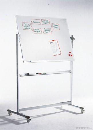 Tablă albă mobilă, rotativă Legamaster PROFESSIONAL (whiteboard)  (mai multe dimensiuni)