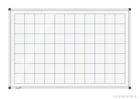 Tablă magnetică cadrilată Legamaster PREMIUM (mai multe dimensiuni),45x60 cm