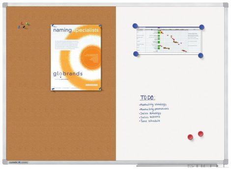 Tablă combinată Legamaster ECONOMY (mai multe dimensiuni),60x90 cm