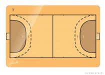 Tablă tactică de handbal Legamaster (mai multe dimensiuni)