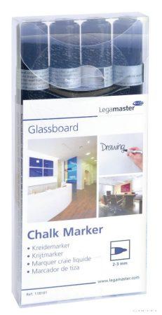 Marker Legamaster pentru table din sticlă (4 buc/set, în mai multe culori)