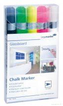 Marker Legamaster pentru table din sticlă, 5 culori