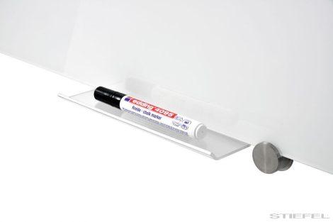 Tavă pentru suport de markere pentru table de sticlă Plexi