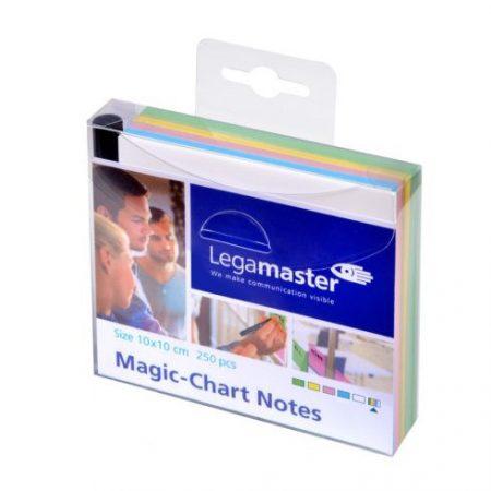 Notițe autoadezive Magic-Chart Notes 10x10 cm 250 buc.