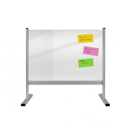 Panou alb separator ECONOMY 180*120 cm, transparent (4 mm)