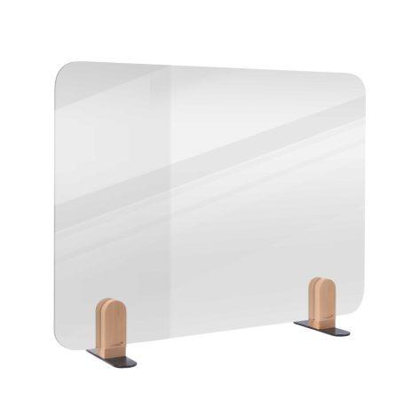 ELEMENTS separator transparent de birou 60x80 cm