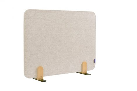 ELEMENTS acoustic separator de birou 60x80 cm bej moale