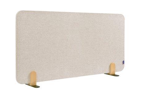 ELEMENTS acoustic separator de birou 60x120 cm bej moale