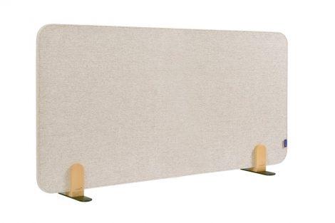 ELEMENTS acoustic separator de birou 60x160 cm bej moale