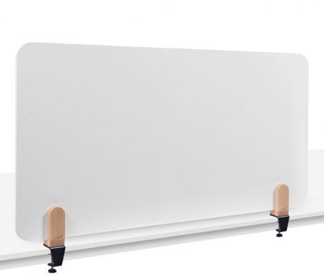 ELEMENTS tablă albă separatoare de birou 60x160 cm