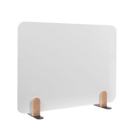 ELEMENTS tablă albă separatoare de birou 60x80 cm