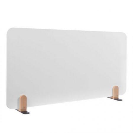 ELEMENTS tablă albă separatoare de birou 60x120 cm