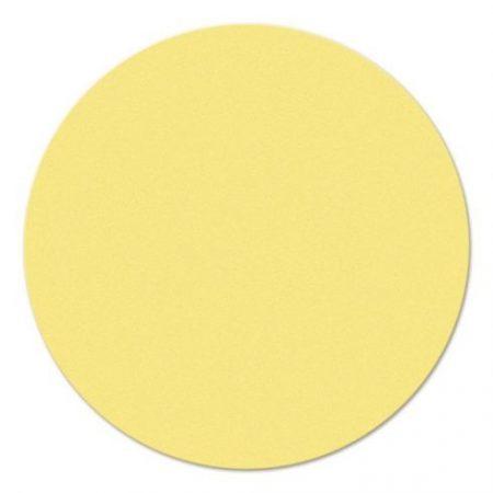 Carduri rotunde de moderare, galbene, 9,5 cm