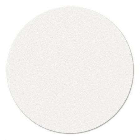 Carduri rotunde de moderare, albe, 9,5 cm, 250 buc.