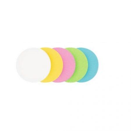 Carduri rotunde de moderare, 500 buc.,14 cm,  în mai multe culori