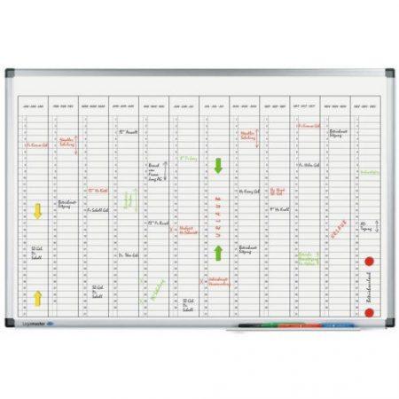 Planificator anual Legamaster Premium (vertical) 60*90 cm