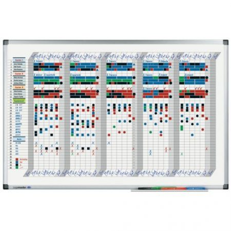 Planificator Legamaster Professional (35 zile), 90*120 cm
