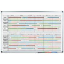 Planificator anual Legamaster Premium 2*6 luni, 60*90 cm