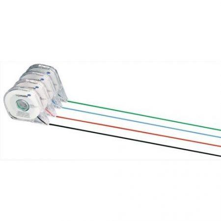 Bandă separatoare pentru planificator, 1mm X 16 metri, roșie