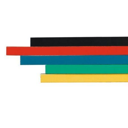 Bandă magnetică fixă (mai multe culori, dimensiuni), 10x300mm, neagră