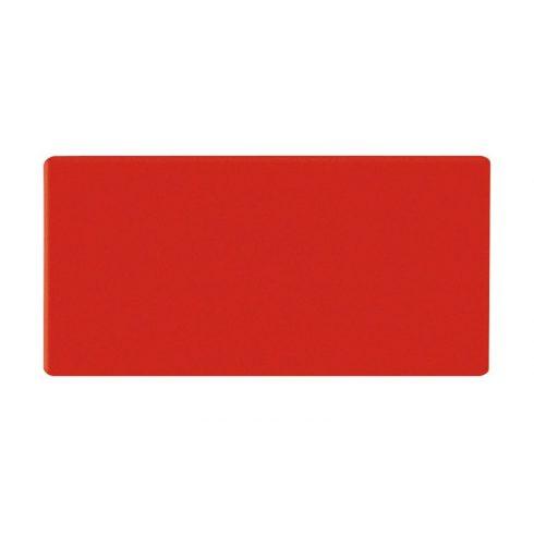 Dreptunghi magnetic, 20x30 mm, roșu