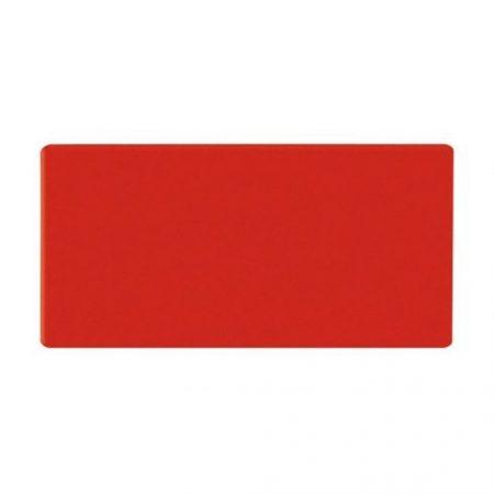 Dreptunghi magnetic, 30x80 mm, roșu