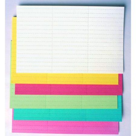 Hârtie de etichetă (mai multe culori și dimensiuni)