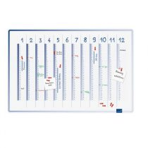 Planificator anual Legamaster Accents (vertical) 60*90 cm