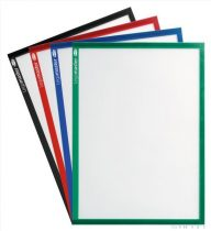 Suport magnetic pentru fișiere A4 (mai multe culori, 5 buc / pachet)
